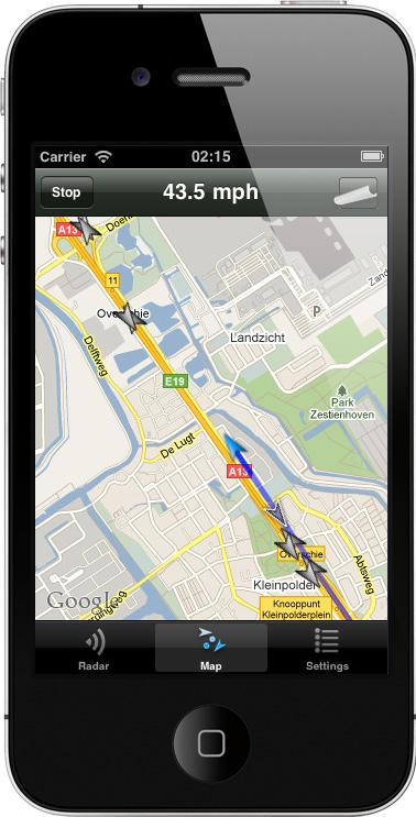 TrackerTag in azione